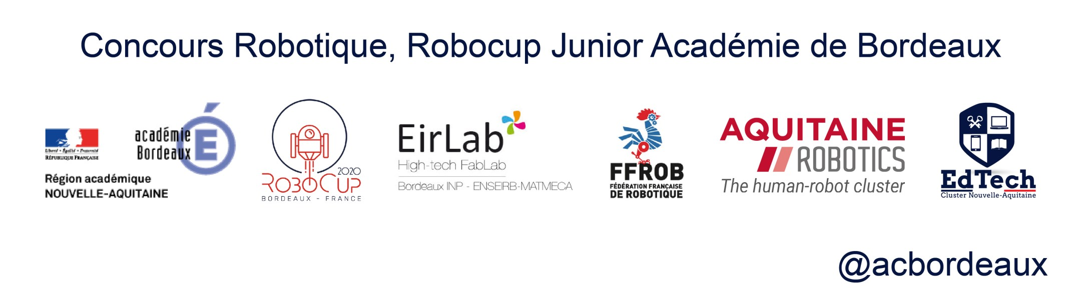 EdTech Robocup Junior Academie Bordeaux