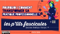David Cohen :  Pourquoi/comment transformer sa pratique professionnelle?