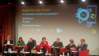 "Digital Society Forum : "" Le numérique : facteur d'inclusion ou d'exclusion ? """