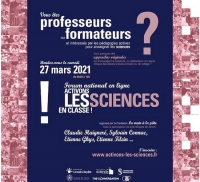 27 mars : Forum national en ligne « Activons les sciences en classe ! »