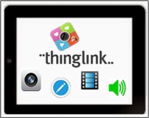 Thinglink : une application tablette pour travailler les visuels en classe