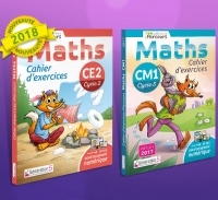 Cahier d'exercices iParcours MATHS CE2 et cycle 3 (édition 2018)