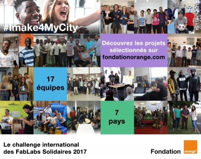 Fablabs solidaires :#Imake4MyCity