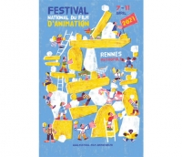 Festival national du film d'animation - L'affiche 2021 se dévoile !